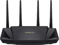 ASUS RT-AX58U AX3000 Dual Band Wi-Fi Wireless Router - Black - Cover