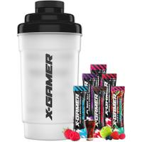 X-Gamer Shaker + Mix 6 Pack (6 x 10g)