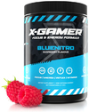 X-Gamer 600g X-Tubz Bluenitro Raspberry-flavoured Energy Formula (60 daily portions)