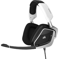 Corsair - VOID RGB ELITE USB Premium Gaming Headset with 7.1 Surround Sound - White - Cover