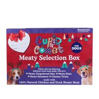 Rosewood - Christmas Meaty Selection Gift Box for Dogs (175g)