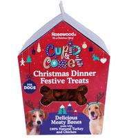 Rosewood - Christmas Dinner Treats Gifts For Dogs (100g)