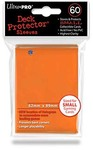 Ultra Pro - Small Deck Protectors - Orange (60 Sleeves)