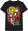 The Nightmare Before Christmas - Ghosts Men's T-Shirt - Black (XX-Large) Cover
