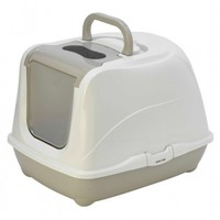 MCP - Cat Toilet Flip (Warm Grey) - Cover