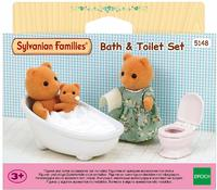 Sylvanian Families - Bath & Toilet Set (Playset) - Cover
