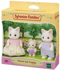 Sylvanian Families - Floral Cat Family (Playset) - Cover