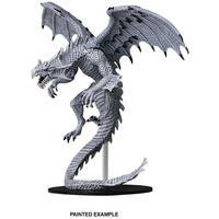 Pathfinder Battles - Deep Cuts - Gargantuan White Dragon (Miniatures)
