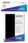 Ultimate Guard - Supreme UX Sleeves Standard Size Card Sleeves - Black (50 Sleeves)