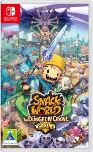 Snack World: The Dungeon Crawl Gold (Nintendo Switch) - Cover