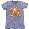 Queen - Classic Crest Men's Denim T-Shirt (Small)