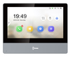 Hikvision 7 Inch Touch Screen Indoor Video Intercom System - Black (Standard PoE)