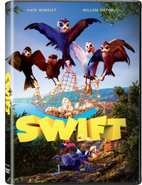 Manou the Swift (DVD) - Cover