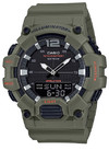 Casio Standard Collection Analog and Digital Wrist Watch - Green and Black