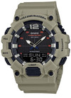 Casio Standard Collection Analog and Digital Wrist Watch - Beige and Black