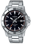 Casio Enticer Series Analog Mens Wrist Watch - Silver and Black
