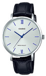 Casio Standard Ladies Collection Analog Wrist Watch - Silver and Black