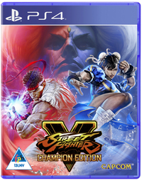 Street Fighter V - Champions Edition (PS4) - Cover
