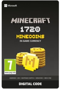 Minecraft 1720 Minecoins In-Game Currency Digital Code (Xbox One) - Cover
