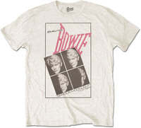 David Bowie - Serious Moonlight Men's T-Shirt - White (X-Large) - Cover