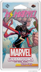 Marvel Champions: The Card Game - Ms Marvel Hero Pack (Card Game) - Cover