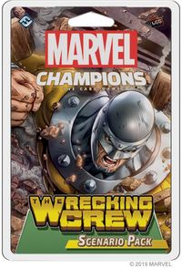Marvel Champions: The Card Game - The Wrecking Crew Scenario Pack (Card Game) - Cover