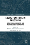 Social Functions In Philosophy Huf (Hardcover)
