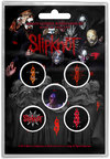 Slipknot - We Are Not Your Kind Button Badges (Set of 5) Cover