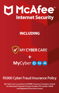 McAfee - Internet Security for 10 Devices (PC Download) - Cover