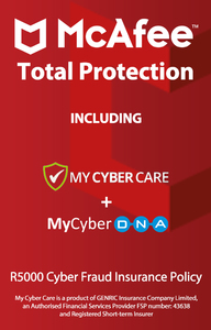 McAfee - Total Protection for 10 Devices (PC Download) - Cover