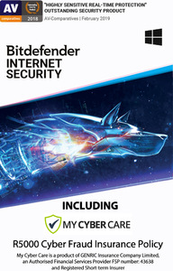 Bitdefender - Internet Security - 2 Devices (PC Download) - Cover