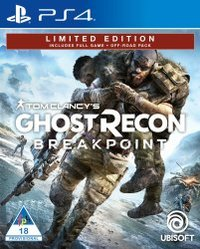 Tom Clancy's Ghost Recon: Breakpoint - Limited Edition (PS4) - Cover