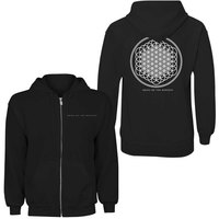 Bring Me The Horizon - Flower of Life Ladies Zip Hoodie - Black (X-Small) - Cover