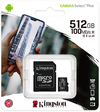 Kingston Technology - Select Plus microSD Card SDCS2/512GB Class 10 512GB Memory Card (SD Adapter Included)