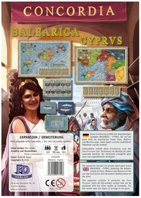 Concordia: Balearica/Cyprus - Expansion for Base-game (Board Game) - Cover