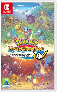 Pokémon Mystery Dungeon: Rescue Team DX (Nintendo Switch) - Cover