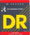 DR NSA Accurate Deluxe 28-44 Hard Tension Silver Plated Classical Guitar Strings