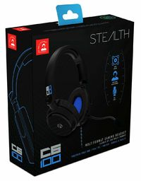 Stealth - ABP - C6-100 Multi-Format Headset - Blue (PC/Gaming)