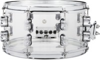 PDP Chad Smith Signature 7x13 Inch Acrylic Snare Drum (Transparent)