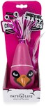 Cat's Life - Shake It Off Crazy Bird Electronic Toy - Pink
