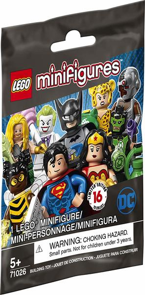 LEGO® DC Comics Super Heroes - Minifigures (Assortment - 1 Figure Supplied At Random)