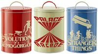 Stranger Things - Silhouette Kitchen Storage Tins - Cover