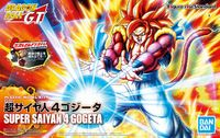 Bandai - Dragon Ball GT - Figure-rise Standard Super Saiyan 4 Gogeta (Plastic Model Kit) - Cover