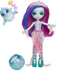 Enchantimals - Dolce Dolphin and Largo Doll - Cover