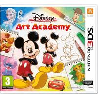 Disney Art Academy (Italian Cover - all Languages in Game) (3DS)