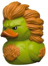 Tubbz - Street Fighter: Blanka Cosplaying Duck Figure - Cover