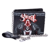 Ghost - Red Embossed Wallet With Chain