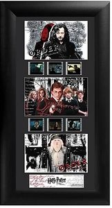 Harry Potter and the Order of the Phoenix - Series 1 Trio Film Cell - Cover