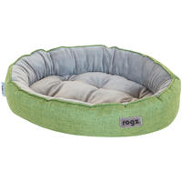 Rogz - Cuddle Oval Cat Pod - Green (Medium)