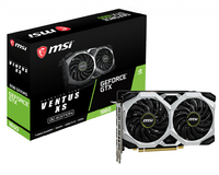 MSI GeForce GTX 1660 VENTUS XS 6G OC 6GB GDDR5 Graphics Card - Cover